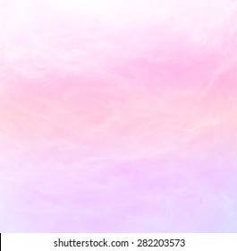 cotton candy with blurred soft colors for background