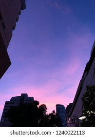 Cotton Candy sky in BKK evening