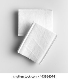 Cotton pads stack