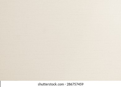Cotton silk fabric wallpaper texture pattern background in light pale cream beige color