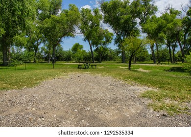 Cottonwood Campground in Big Bend National Park in Texas, United States