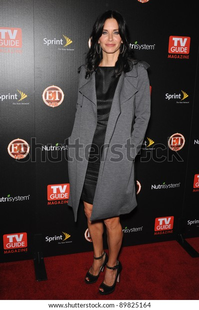 Cougar Town Star Courteney Cox Tv Stock Photo (Edit Now) 89825164