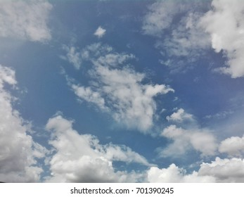could and bule sky background
