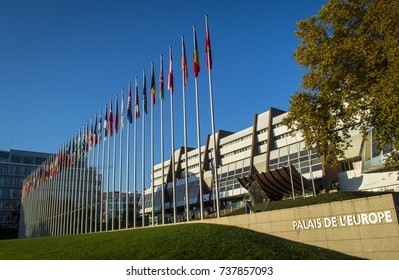 The Council of Europe in Strasbourg (Alsace, France). One of the most important international organisation working on human rights and rule of law.