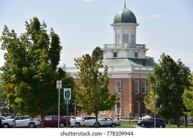 Council Hall in Salt Lake City, Utah