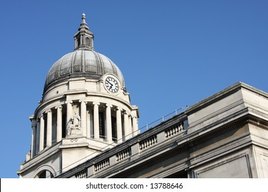 Council House Building, Old Market Square, Nottingham, England