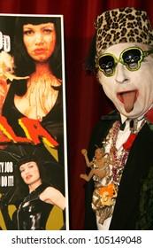 Count Smokula  at the Los Angeles Premiere of 'Trasharella'. Lions Gate Screening Room, Santa Monica, CA. 05-09-09