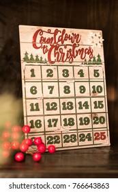 Countdown to Christmas holdiay calendar