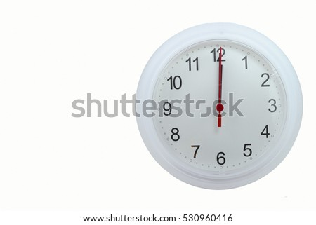 Countdown clock white color on wooden wallpaper background