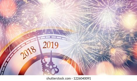 countdown new year 2019