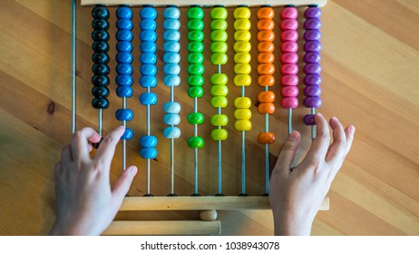 Counting Colorful Abacus