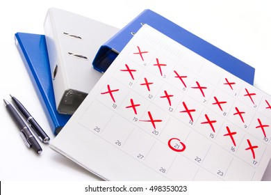 Counting down to the event day - Busy month at work - Calendar 2017 - Pin the event day- timeline, time, concept, idea, management, concept, page