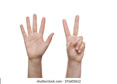 7 Fingers Images, Stock Photos & Vectors | Shutterstock