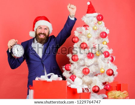 Counting Time Till Christmas How Much Stock Photo (Edit Now ...