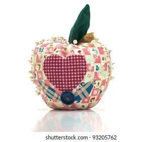 Country Apple Pin Cushion