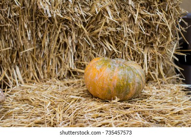 Country autumn decoration, autumn harvest background