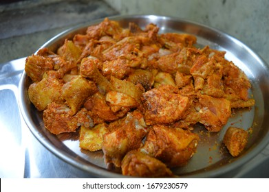 country chicken mixed with masala items
