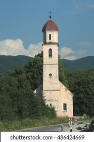Country Church in Croatia