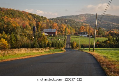 Country fall morning