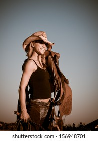 Country girl on the farm. Longmont, Colorado.