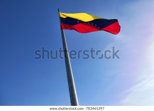 A country, a nation, a representation of effort, blood and passion venezuelan flag.