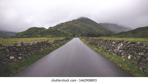 A country road on the way to Skye - Highlands - Scotland