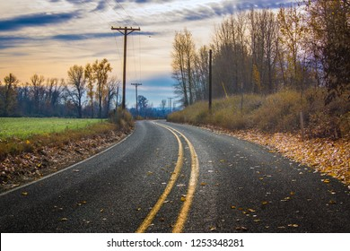 Country Road in United States