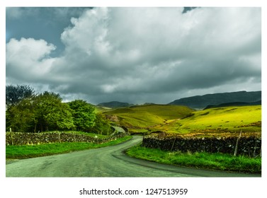 Country Roads through North Yorkshire