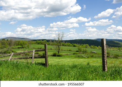 Country Scene, Open Pastures, Hudson Valley, NY.