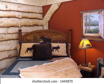 country style bedroom