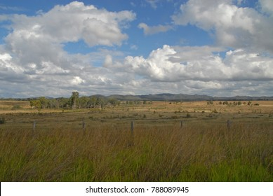 Countryside along the Pacific Highway near Rockhampton, Australia