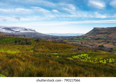 Countryside of County Leitrim in Ireland