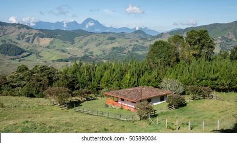 Countryside farmhouse