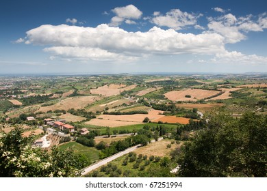 Countryside of Italy, le Marche