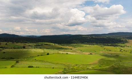 countryside landscape aerial view
