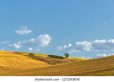 countryside landscapes in Val D'Agri, Basilicata