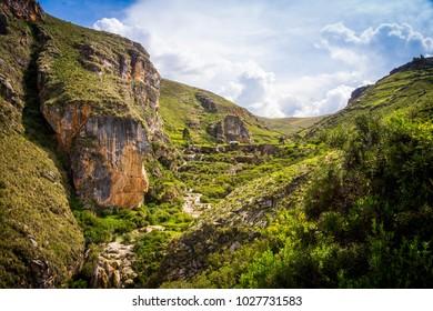 Countryside in Millpu - Ayacucho (Peru)