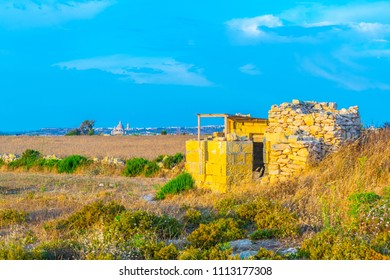 Countryside on Gozo, Malta