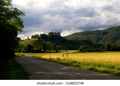 Countryside scene, Ariege, France