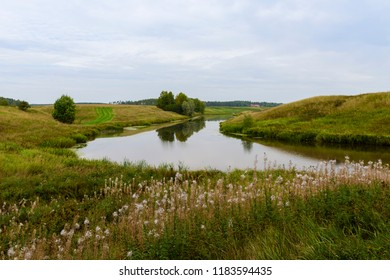 Countryside scenery in september