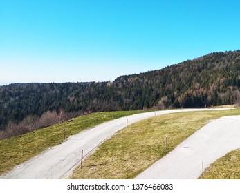 Countryside in Slovenia