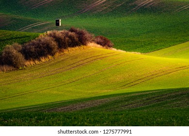 Countryside of south Moravia in Czech republic, Europe.