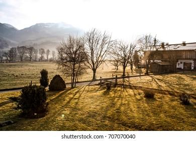 Countryside Sunrise
