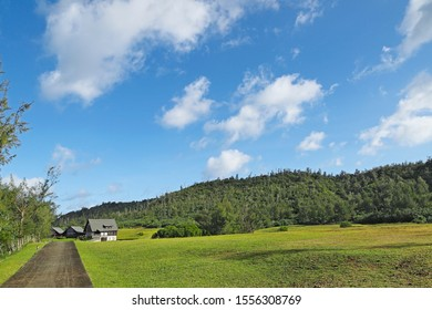 A countryside view in