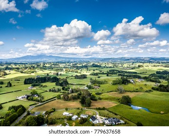 Countryside in Waikato, New Zealand