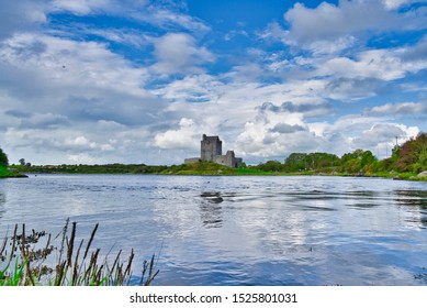 County Galway, Ireland. Dunguaire Castle - Galway Bay in County Galway, Ireland