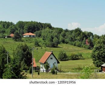 Countyside at mountain Goc