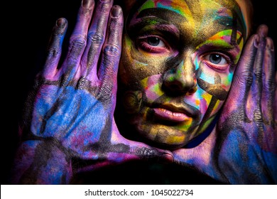 Hand Painted Mermaid Stock Photos Images Photography Shutterstock