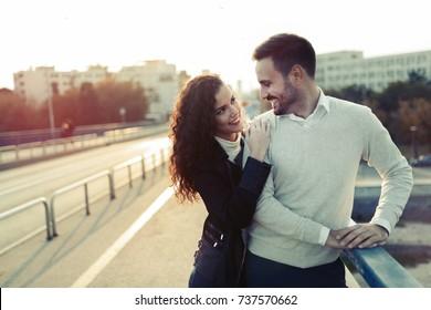 cuddling while dating