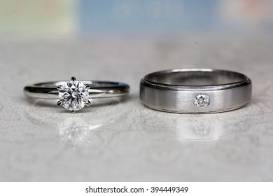 Couple Diamond ring, eternal love
